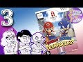 Mario and Sonic at the Olympic Games, Ep. 3: Sonic Skeets - Press Buttons 'n Talk