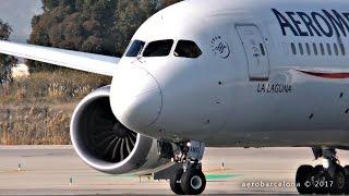 [FULL HD] Aeromexico 787 Dreamliner Barcelona-El Prat