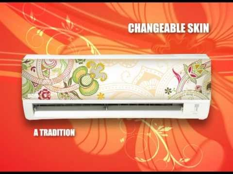 Acson Changeable Skin Wall Mounted Signature Series Redefined