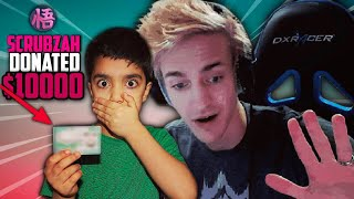 MY 5 YEAR OLD LITTLE BROTHER DONATES TO NINJA WITH A STOLEN CREDIT CARD! | FORTNITE TWITCH STREAM