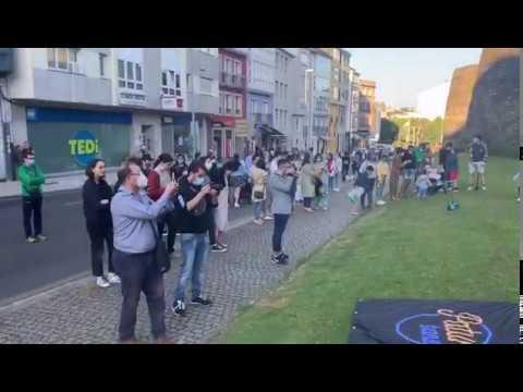 Los lucenses disfrutan de paseos amenizados por conciertos