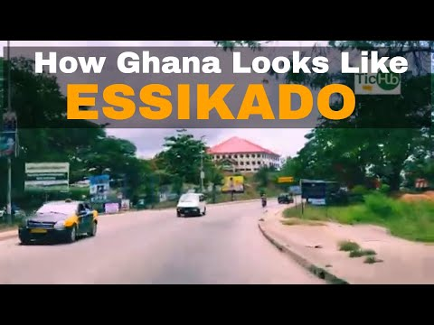 How Ghana Look Like - Essikado Sekondi Takoradi Ghana Road Trip