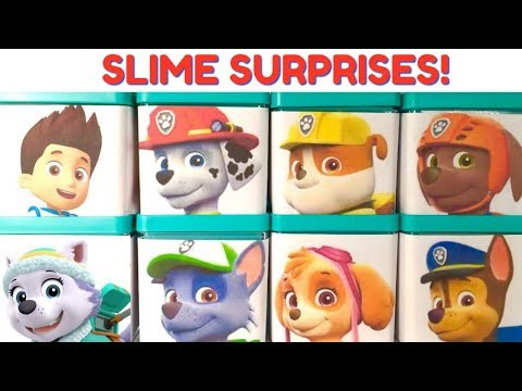 Thumbnail: Learn Colors with Paw Patrol Slime Play Doh Surprise Boxes | Fizzy Fun Toys