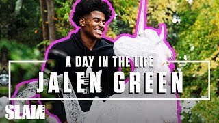 Jalen Green on HOW TO BE UNICORN FAM 🦄 | SLAM Day in the Life
