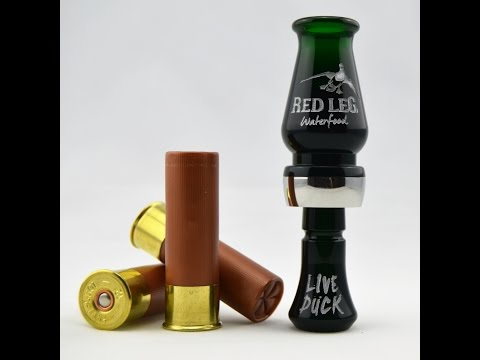 Live Duck Single Reed Duck Call Red Leg Waterfowl - YouTube