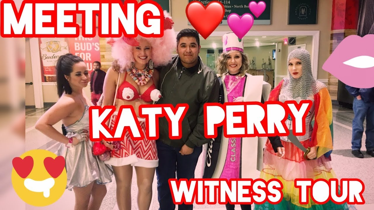 Meet and greet katy perry witness tour youtube meet and greet katy perry witness tour m4hsunfo