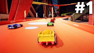 HOT WHEELS UNLEASHED Gameplay Walkthrough Part 1 - INTRO (PS5 4K 60fps)