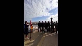 Туристический символ Одессы «Якорь-сердце» торжественно открыт в Марселе