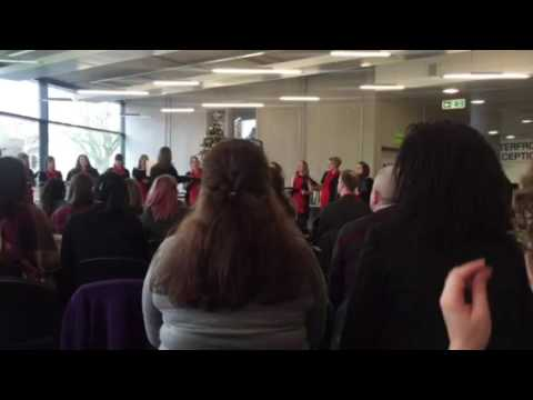 University of Suffolk singers 1