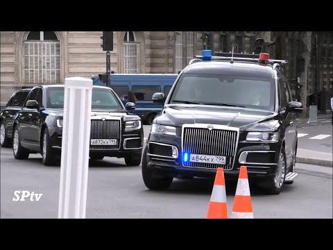 Putin's convoy with
