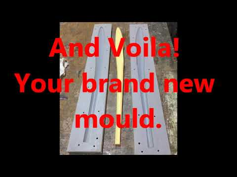 Making a fuselage mould of an RC glider