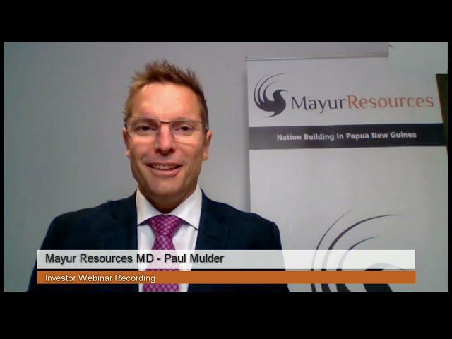 Mayur Resources - Investor Webinar Recording