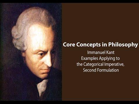 Immanuel Kants Examples Categorical Imperative 2nd Formulation
