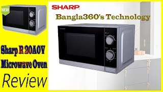 Sharp Microwave Sharp R 20A0V Microwave Oven Review