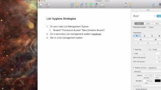 Simple List Hygiene Strategies
