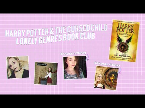 HARRY POTTER & THE CURSED CHILD LIVESHOW // #lgbookclub