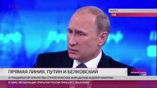 Путин об убийстве Немцова. Впорос Хакамады