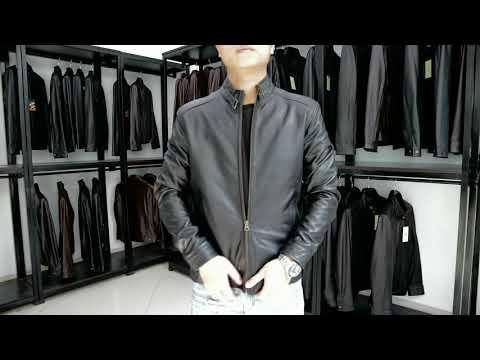 Áo Khoác Da Nam Dáng Hàn Quốc - FTT Leather