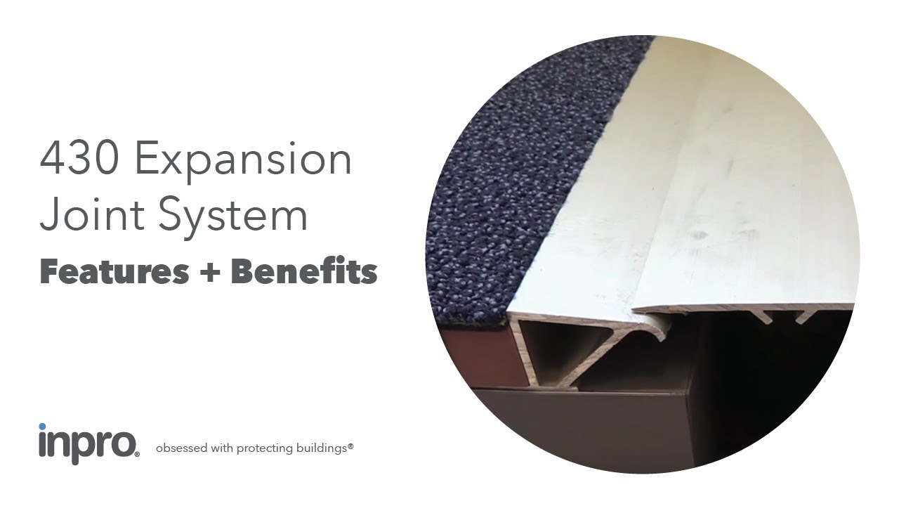 Jointmaster 430 Expansion Joint System Youtube