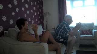 Parents reaction to Andy Murray winning at Wimbledon