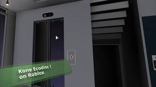 Roblox | Kone Ecodisc elevator at the Maxceny TEST Tower with an annoying player !