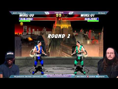 KNA #14   UMK3 LF   MGFC Chain Ace VS KN Shock