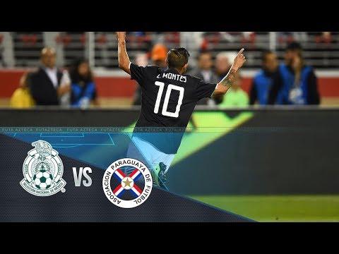 Amistoso | México 4-2 Paraguay