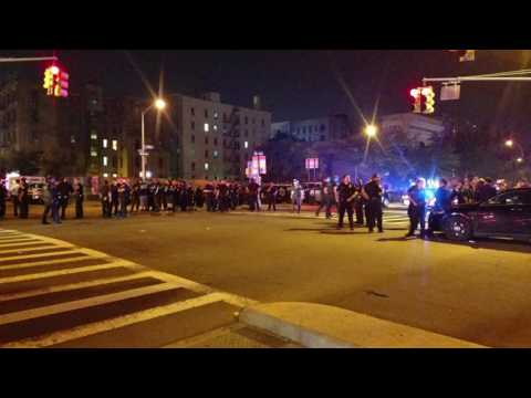 46 Pct. - PO Shot In The Head & Her Partner Hysterical Call For Help
