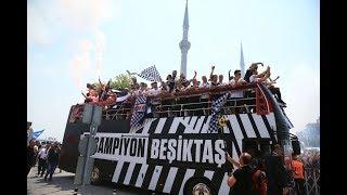 Beşiktaş şampiyonluk kutlaması