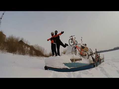 По Котельничу на велосипедах.