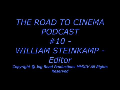 WILLIAM STEINKAMP - Editor - TOOTSIE - SYDNEY POLLACK - DUSTIN HOFFMAN - THE ROAD TO CINEMA PODCAST