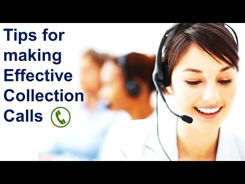 How to make Effective Collection Calls