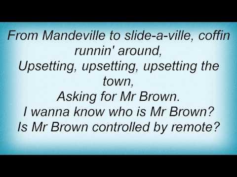 Bob Marley - Mr Brown Lyrics_1