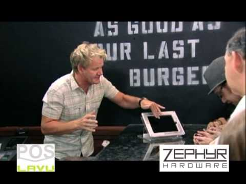 Zephyr Hardware + Lavu iPad POS Featured on Gordon Ramsay's Kitchen Nightmares
