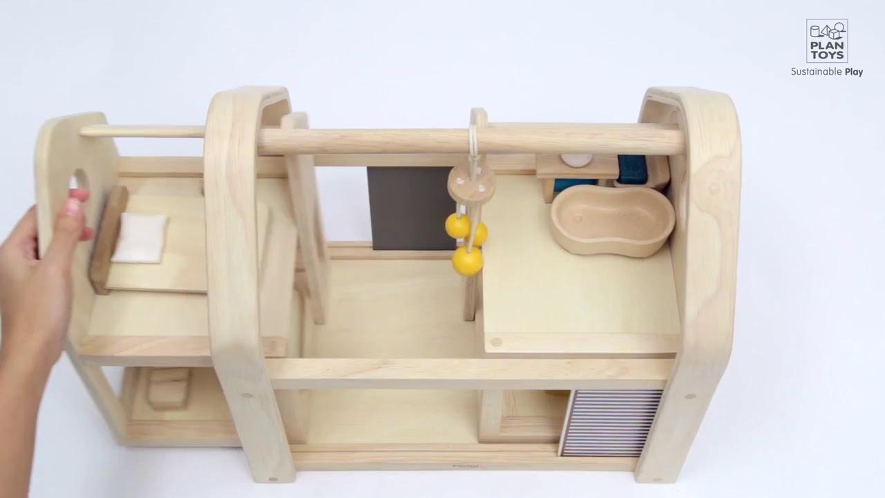 Plan Toys Slide N Go Dollhouse Conscious Craft