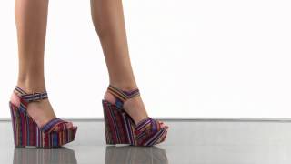 Steve Madden Winonna in Red Multi