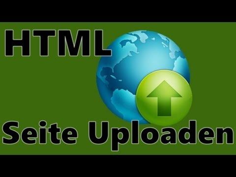 HTML Seite Uploaden / Online Stellen Bei Bplaced.net [HD] - TutorialChannel