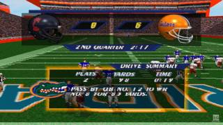 NCAA Football 98 PS1 Gameplay HD