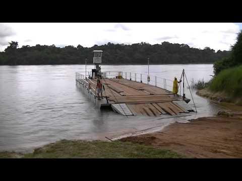 Guyana South America Annai Kurupukari Essequibo River - Satellite Dish VSAT Technician Mark Erney