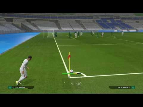 مباراة تدريبية بين أساسي الاخضر والرديف TRAINING CLASS SAUDI ARABIA   PS4 PES2016