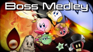 Boss Remix Medley - Kirby & the Amazing Mirror [Light MetaS]