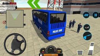 Polis Otobüs Şoförü Oyunu // Police Bus Driving Sim: Off road Transport Duty Gameplay FHD