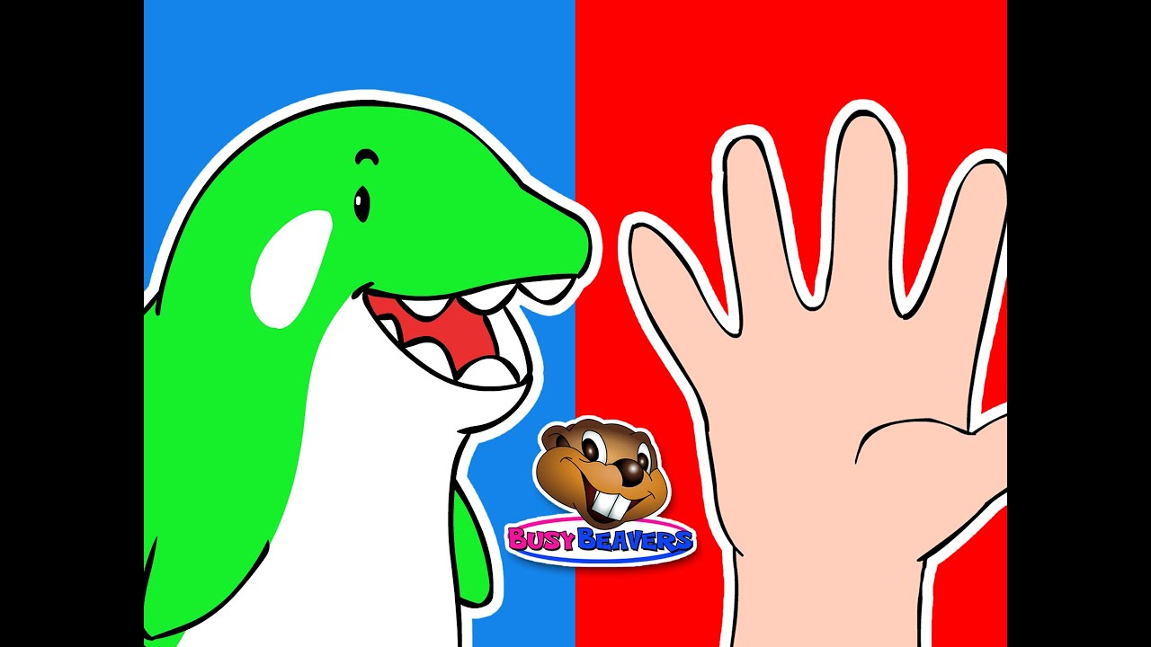 Orca Finger Family | Busy Beavers Nursery Rhyme, Early Childhood Video, Fun Catchy Song for Babies