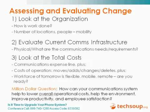 Webinar - Is It Time to Upgrade Your Phone System? - 2011-02-03