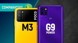 POCO M3 vs MOTO G9 POWER: which is THE BEST CELL PHONE among the BATTERY giants? | Comparison