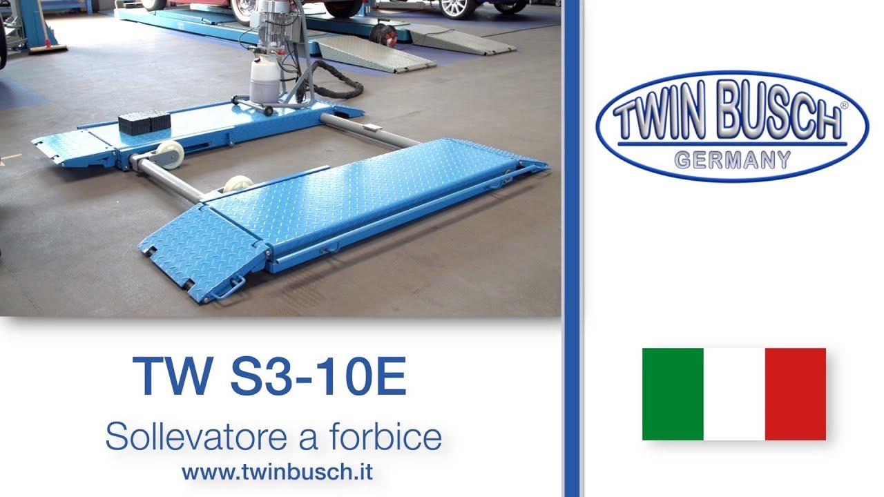 Tw S3 10 E Sollevatore A Forbice Di Twin Busch Youtube