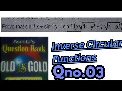 Inverse Circular Function -3/Solutions/Asmita old is gold grade 11  solutions/Rishad Baniya/Expropace