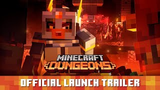 Minecraft Dungeons - Official Launch Trailer (2020)