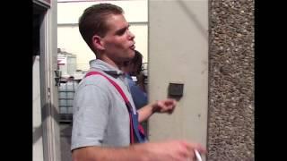 Uwe Wöllner in der LKW Waschanlage Teil 3