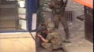 Bundeswehr Feuergefecht Prizren Kosovo Juni 1999